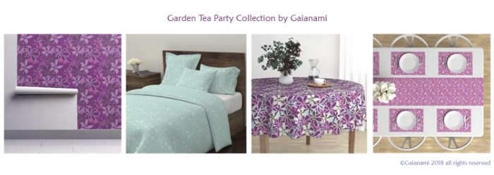 Garden Tea Party Collection on Roostery Home Decor