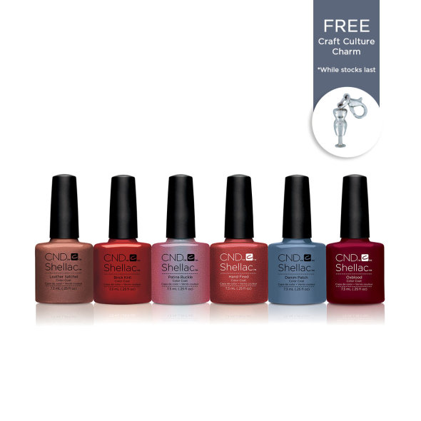 CND Shellac Craft Culture Collection €135