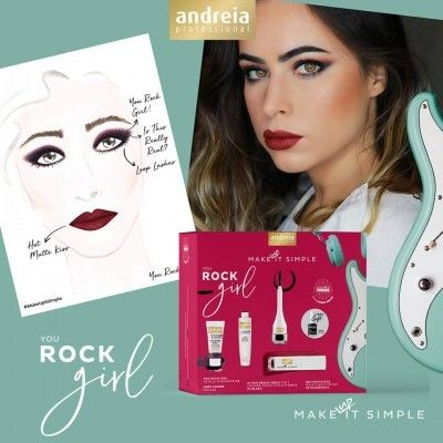 Andreia Professional You Rock Girl Kit €49.95