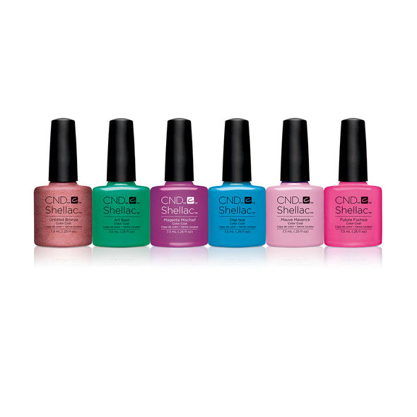 CND Shellac Art Vandal Collection €135