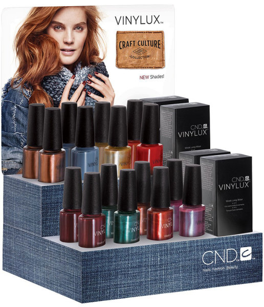 CND Vinylux Craft Culture Fall Collection 2016 €12