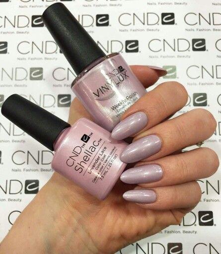 CND Vinylux Flirtation Summer Collection 2016 Lavender Lace #216 €12