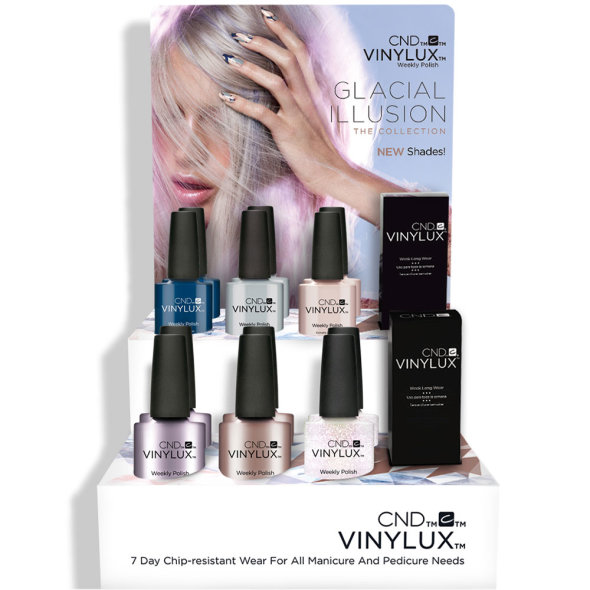 CND Vinylux Glacial Illusion Collection 2017 €12