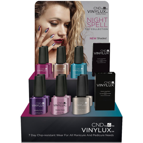 NEW! CND Vinylux Nightspell Collection 2017 €12