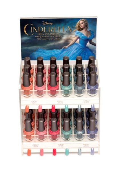 Morgan Taylor Cinderella Fairy Tale Collection Nail Lacquers €12 each.