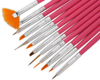Professional Nail Art Brushes Collection €16