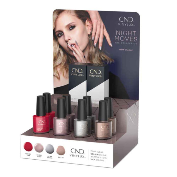 Latest Vinylux CND Night Moves Collection €12