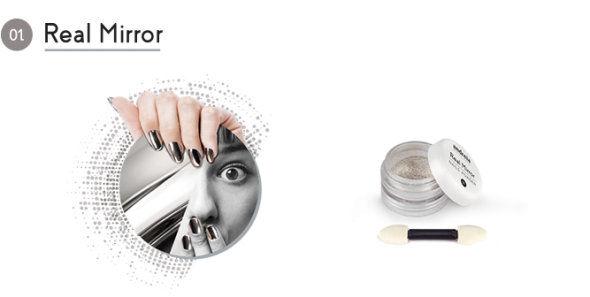 Andreia Professional Real Mirror Chrome Powder €7.95