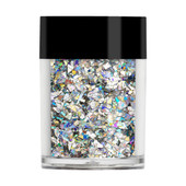 Lecenté Silver Holographic Glitter Crushed Ice €7.50
