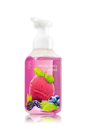 Bath & Body Works Vanilla Berry Sorbet Deep Cleansing Hand Soap 236ml €20