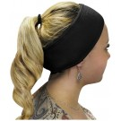 Professional Quality Black Cotton Velcro Headband €1.95
