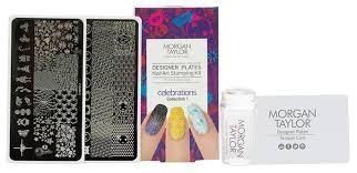 Morgan Taylor Designer Plates Nail Art Stamping Kit CELEBRATIONS €29.95