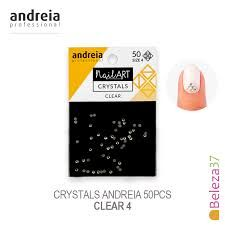 Andreia Professional Nail Art Crystals 50 pack CLEAR €6.95