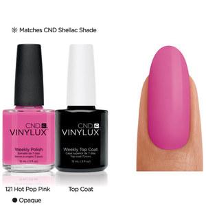 CND Vinylux Hot Pop Pink #121 €12