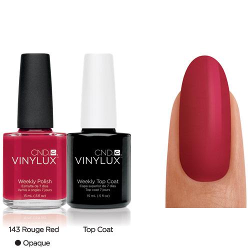 CND Vinylux Rouge Red #143 €12