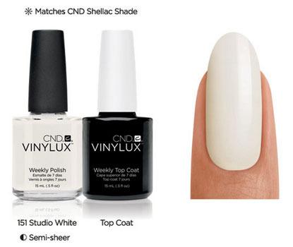 CND Vinylux Studio White #151 €12