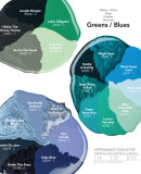 Morgan Taylor COLOUR CHART Greens & Blues €12