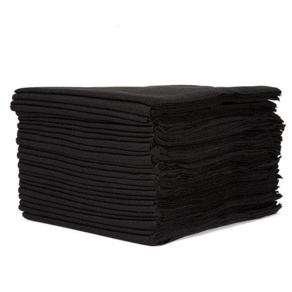 Disposable Towels Black 40 x 80cm 50 Pack €16.50