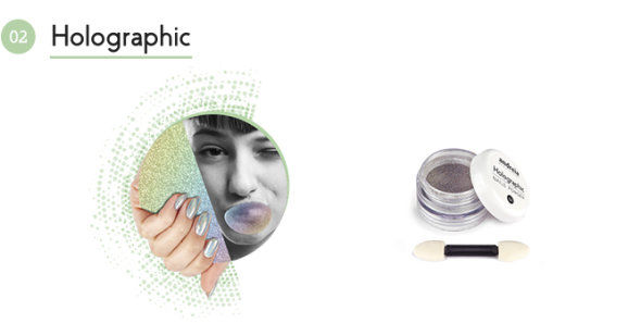 Andreia Professional Chrome Powder Holographic €7.95