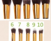Professional Makeup Brushes from €12