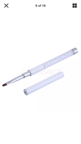 Professional Gel Brush with Sparkly Handle €16.95