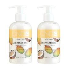 CND Scentsations Mango & Coconut Hand & Body Wash & Lotion Duo €30