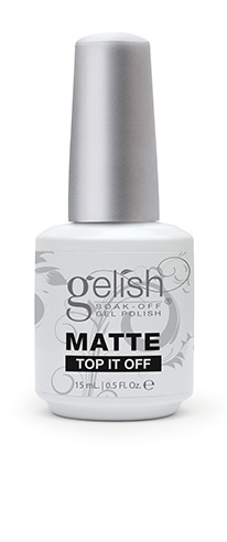 Gelish MATTE Top It Off Top Coat 15ml €35.50