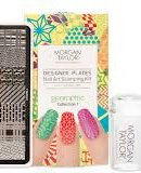 Morgan Taylor Designer Plates Nail Art Stamping Kit GEOMETRIC €29.95