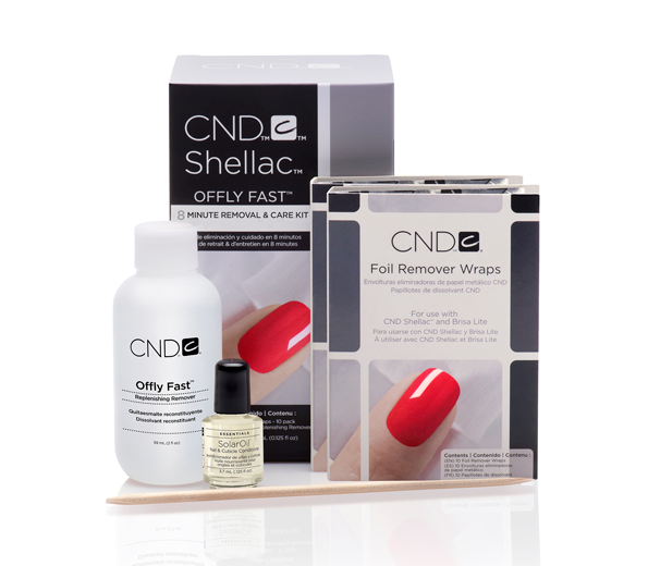 CND Shellac 8 Minute Removal & Care Kit 'Offly Fast' €15.95