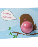 Seasons Tweetings Bath Blaster Greeting Card €4.95