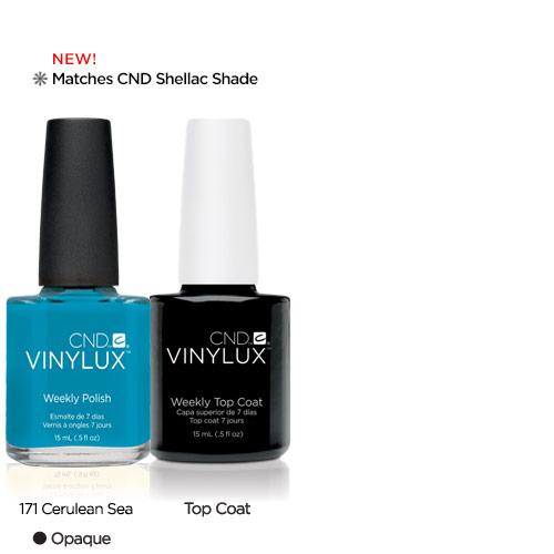 CND Vinylux Cerulean Sea #171 €12