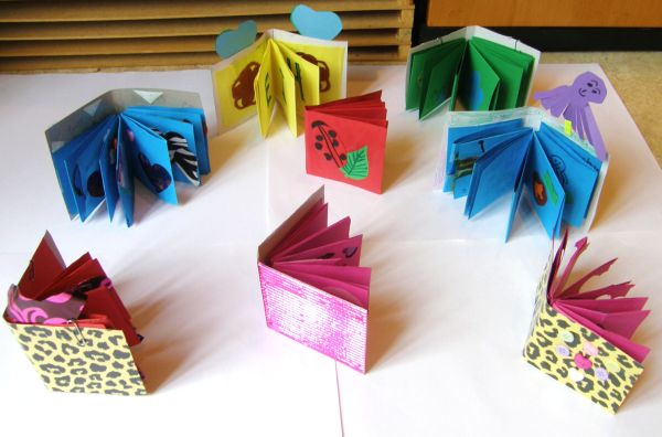 3 Dimensional Bookmaking class