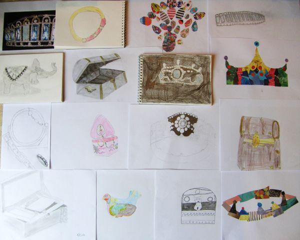 Pencils Class - Jewelry & Treasure Theme