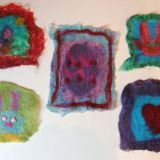 Wet Felting Class 9-12 year olds