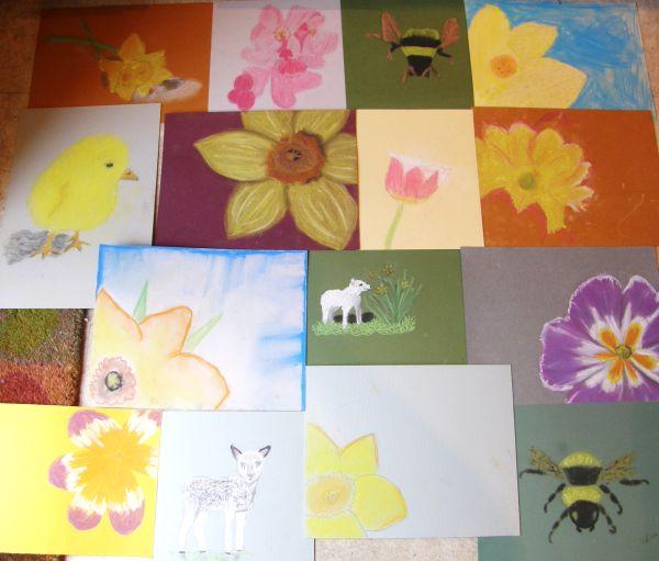 Pastels  - Spring Theme