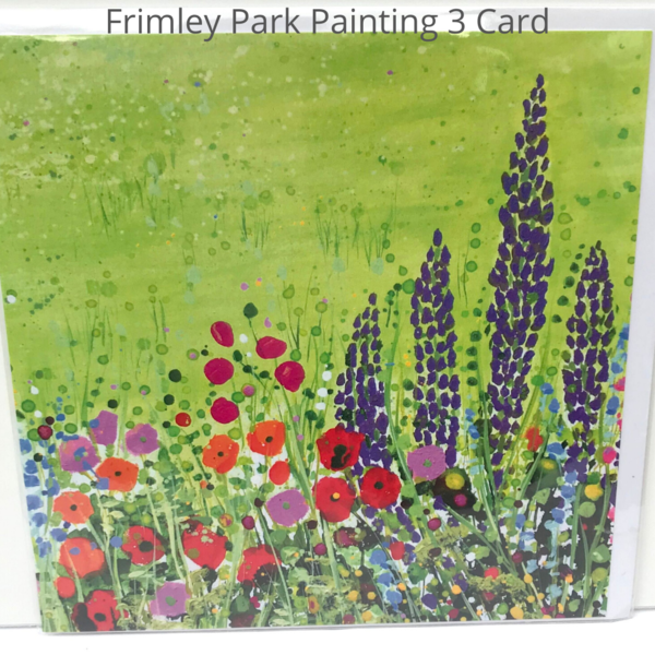 Frimley Park Hospital NHS Foundation Trust Triptych in Ward F14 card - detail Painting 3