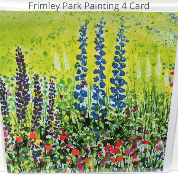 Frimley Park Hospital NHS Foundation Trust Triptych in Ward F14 card - detail Painting 4