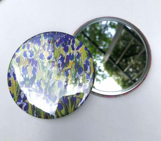 Becca Clegg Mirror decorative flowers gift pocket vanity
