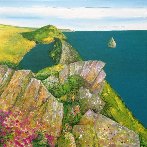 Boscastle card