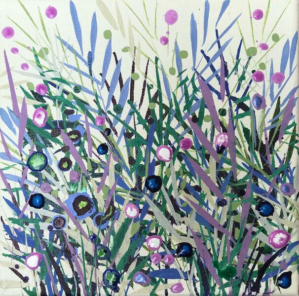 Becca Clegg Cromer Grasses small lilac