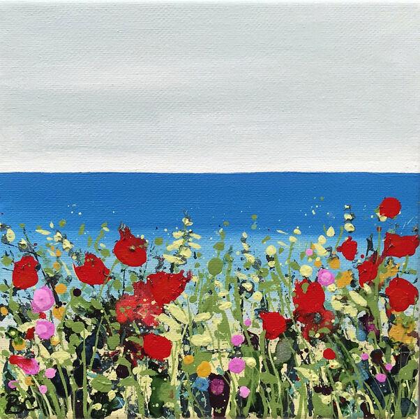 Cromer Poppies Sea Becca Clegg