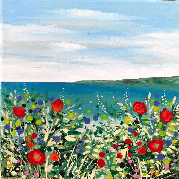 Becca Clegg Flower Path to the Sea