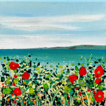 Cromer Poppies Sea Becca Clegg