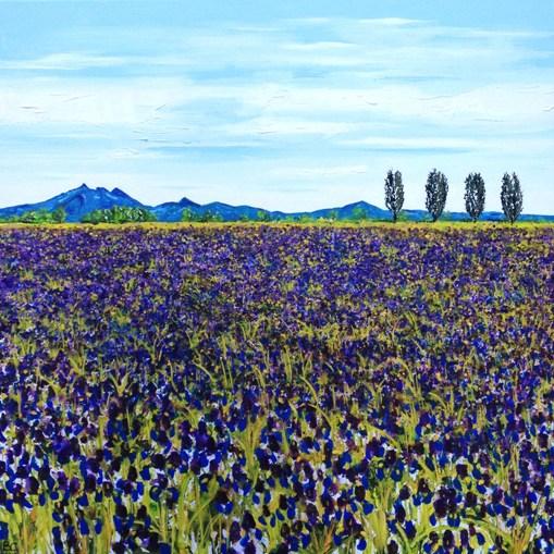 Iris Field Giclee Print