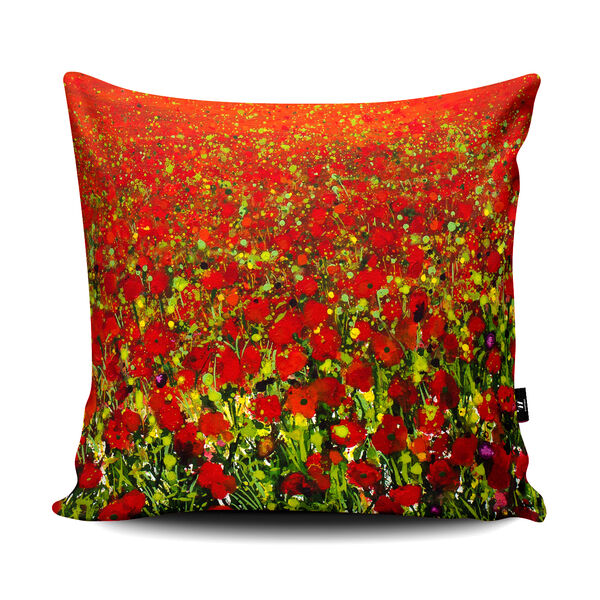 Becca Clegg Poppyfield IV Cushion