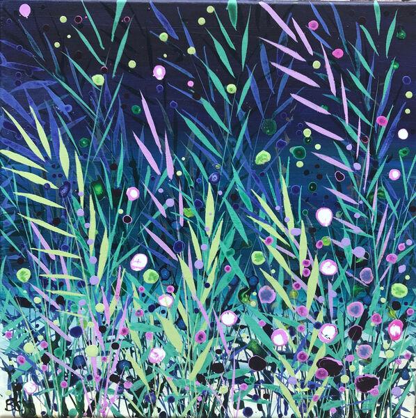 Becca Clegg Sea View Grasses Midnight