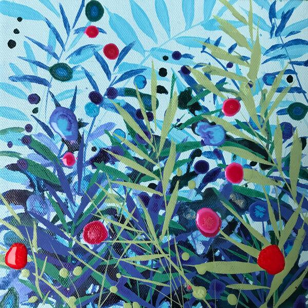 Becca Clegg Turquoise grasses tiny