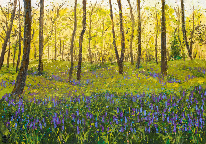 Frank's Wood, Leith Hill Giclee Print