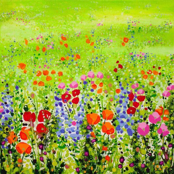 Green Meadow Flowers Becca Clegg