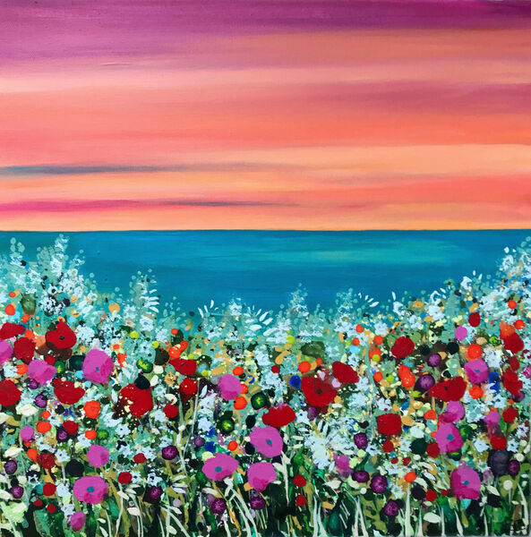 Flowers sea coast becca clegg